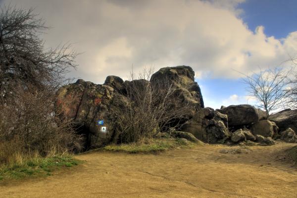 sziklák a természetben